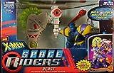 X Men Beast & Motorized DEEP-Space Cosmic Blaster Space Riders Marvel Comics Action Figure & Vehicle