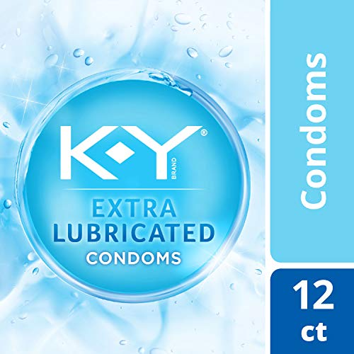 K-y Extra Lubricated Latex Condoms, 12 Count