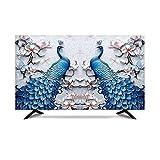 MFMYUANHAN Copertura Monitor 27 Pollici Copertura TV da Interno Impermeabile Protezione Tessuto in Seta(Size:19in,Color:4#)