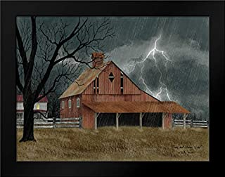 Dark and Stormy Night 24x19 Framed Art Print by Jacobs, Billy