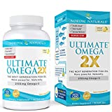 Nordic Naturals Ultimate Omega 2X - Extra Omega-3s Support Heart, Brain, and Immune Health*, 90 Count