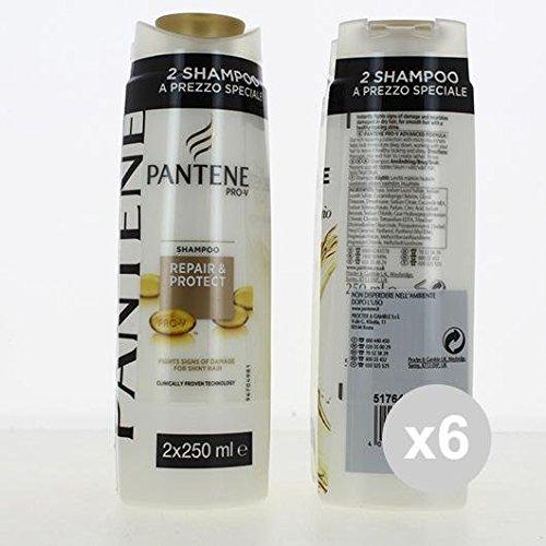 Set 6 PANTENE Balsamo 250X2 Ripara&Protegge Shampoo E Balsamo Prodotti per capelli
