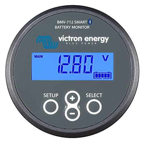 Victron BMV-712 - Monitor inteligente de batería (500 A, 12 V, 24 V, 48 V)