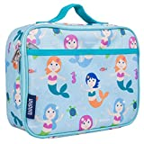 Wildkin 33081 Olive Mermaids Kids Insulated Lunch Box for Boys and Girls, Perfect Size for Packing Hot or Cold Snacks for School and Travel, Mom