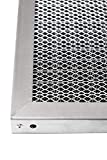 LifeSupplyUSA Replacement Heavy Duty 16x20x1 Aluminum Electrostatic Washable Air Purifier A/C Filter for Central HVAC Conditioner Furnace Systems