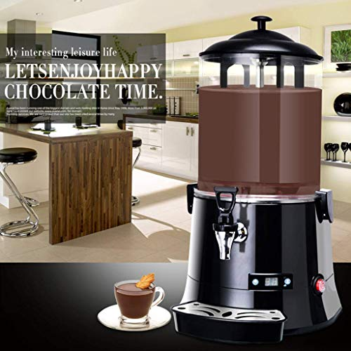 GBX Sommer Getränkezubereitung Mixer-Multifunktionale Handelsschokolade Getränkeautomat Smart Hot Drink Maschine Led Touch-Taste Geeignet für Milchkaffee Orangensaft Soja Milchproduktion -10L