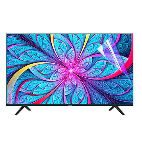 AWSAD Protector Pantalla TV Anti-luz Azul, Sin Burbujas Se Adapta a Pantallas HDTV LCD, LED, 4K OLED Y QLED Protector de Pantalla Antideslumbrante