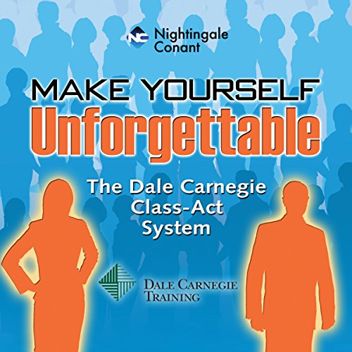 Make Yourself Unforgettable audiobook cover art