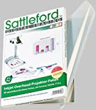 Sattleford Overheadfolie: 50 Inkjet-Overhead-Folien, DIN A4, transparent (Transparentpapier)