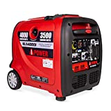A-iPower SUA4000i 4000 Watt Portable Inverter Generator Gas Powered, Small with Quiet Operation RV Ready for Camping, Tailgate, or Home emergency