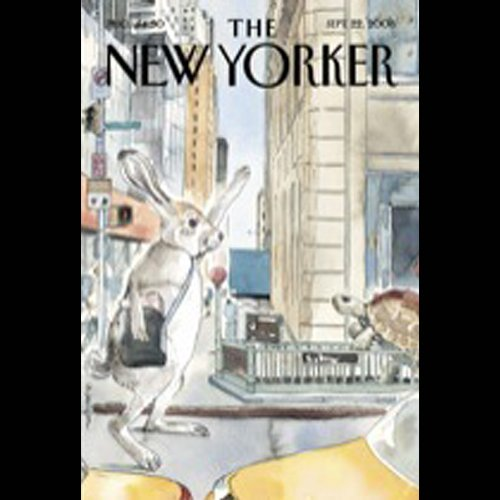 The New Yorker, September 22nd, 2008 (Philip Gourevitch, David Remnick, Steve Coll) cover art