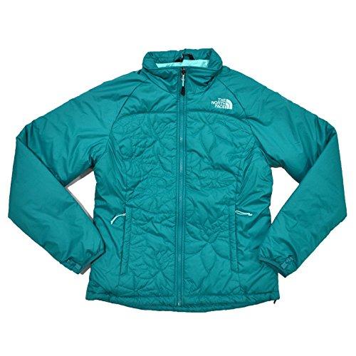 The North Face Womens Catawissa Puffer Jacket (Fanfare Green, S)