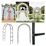 Arche de mariage Fer mariage arc décoratif jardin de jardin pergola stand cadre fleur pour mariage anniversaire mariage décoration bricolage arc de bricolage pour Party Event