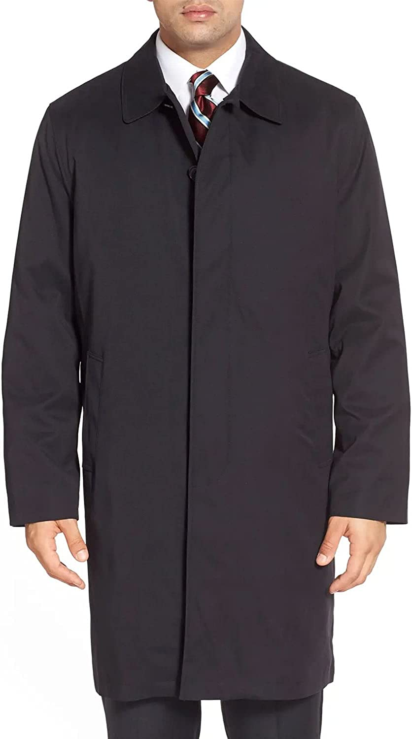 LONDON FOG Men's Durham Rain Coat Opening large New popularity release sale Zip-Out Body with