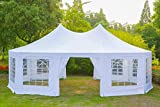 EROMMY 26x19ft Party Tent Gazebo Pavilion Adjustable Removable Sidewalls Shelter for Wedding,Garden