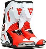 Dainese Torque 3 Out - Botas de moto para mujer, color negro, blanco y rojo, talla 42