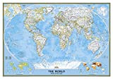 Classic Weltkarte, politisch, laminiert: 1:38931000: Political (National Geographic Reference Map) - National Geographic Maps