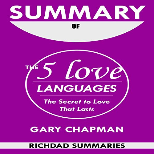 Summary of The 5 Love Languages audiobook cover art