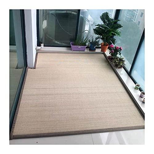 KKCF Fibra Naturale bambù Tappeto, Tappeto Tradizionale Giapponese Antiscivolo, Tappetino Morbido Tessuto Estivo, Usato per Corridoio Veranda Cucina, Personalizzato