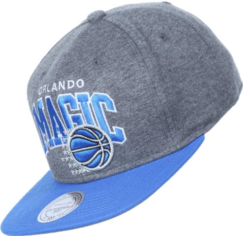 Mitchell & Ness - Casquette Snapback Homme Orlando Magic Team Arch Jersey