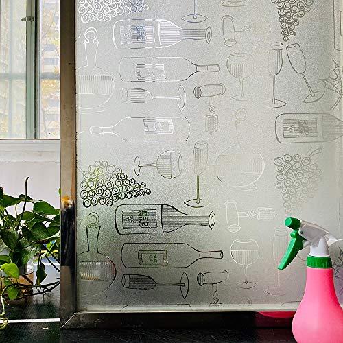 LMKJ Färben dekorative Fensterfolie...