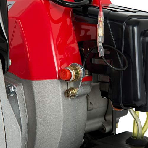 EBERTH 1 Zoll Wasserpumpe Benzin Teich Gartenpumpe 12.500 l/h - 5