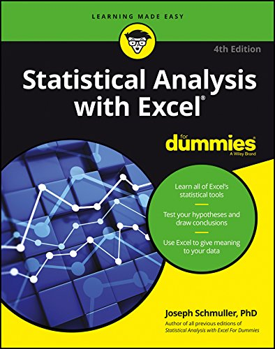 Statistical Analysis with Excel For Dummies (English Edition)