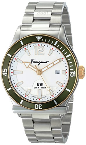 Salvatore Ferragamo Men's FF3150014 Ferragamo 1898 Sport Stainless Steel Watch