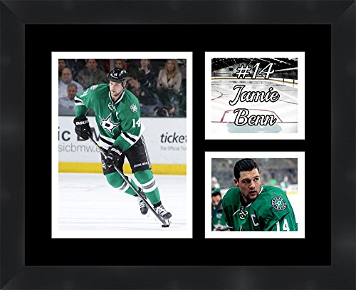 Mike Modano Dallas Stars NHL Framed Top Scorer Milestone Collage