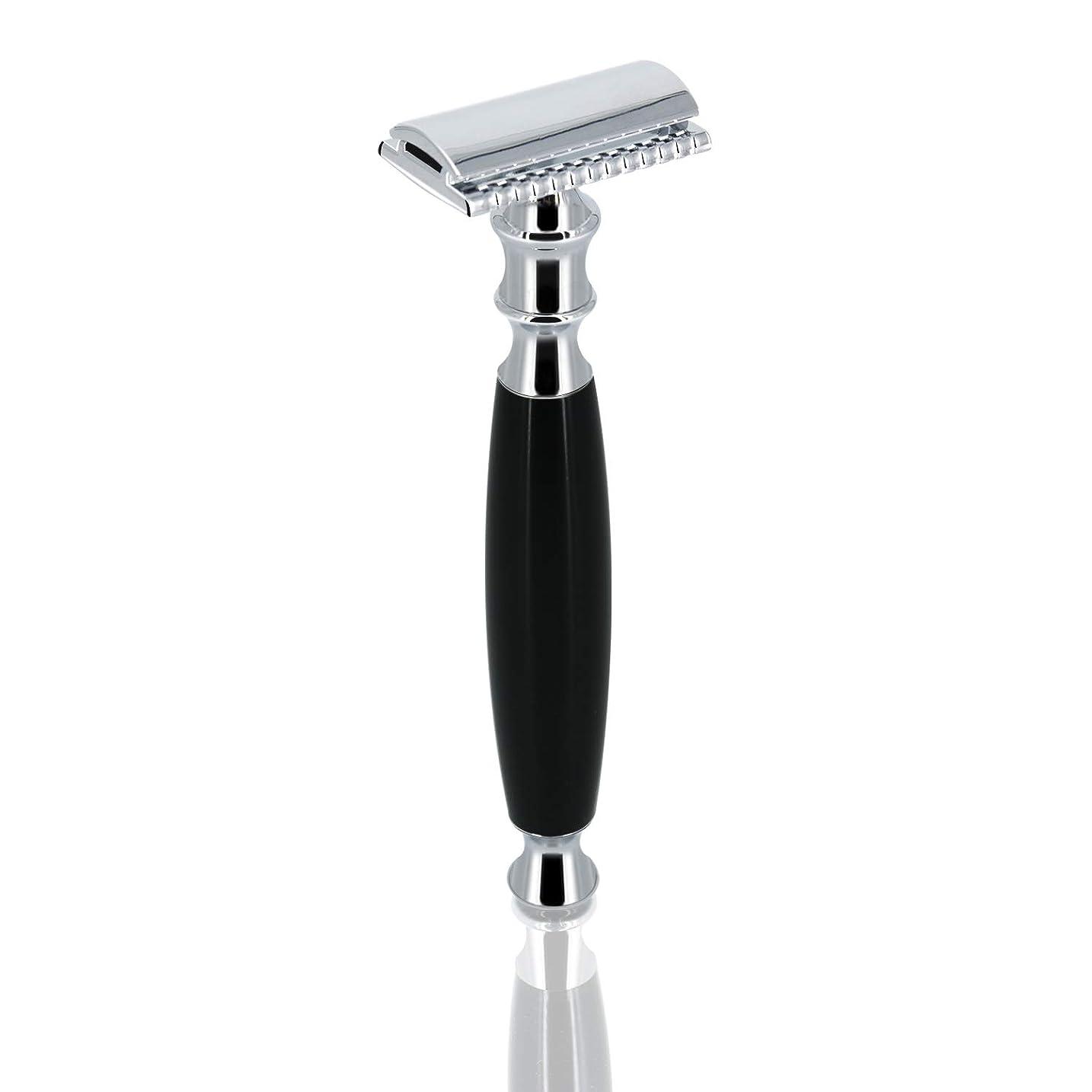 請求可能前進セクションGRUTT クラシックレイザー 両刃カミソリ 髭剃り 剃刀 ブレード付き …