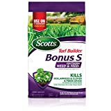 Scotts Turf Builder Bonus S Southern Weed and FeedF2-5,000 sq. ft, Florida Fertilizer Kills Dollarweed and Clover, Fertilizes Grass to Crowd Out Future Weeds, Use on Southern Grasses, 17.34 lb.