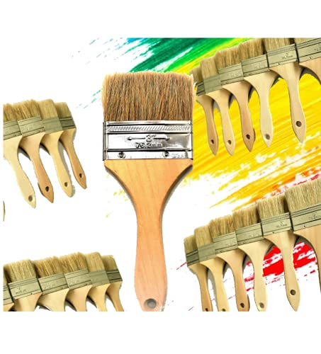PANCLUB Paint Brushes for Walls I Chip Brush Set 3 inch...