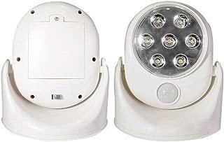 xiegons0 Sensor de Movimiento Noche Luz, 360°Giratorio