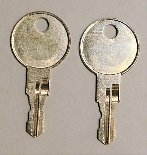 A16 A17 A18 Pair of 2 - Husky Keys New Keys for Husky Tool Box Home Depot Toolbox Replacement Key pre Cut to Code by keys22 (A18)