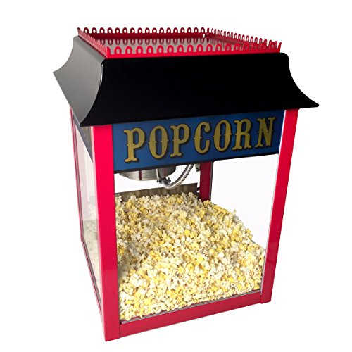 1911 Style 4 Ounce Red Popcorn Machine for Professional Concessionaires Requiring Commercial Quality High Output Popcorn Equipment