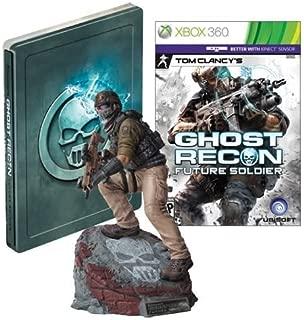 Ghost Recon: Future Soldier Limited Edition XBOX Video Game + Statue + Steelbook [Xbox 360]