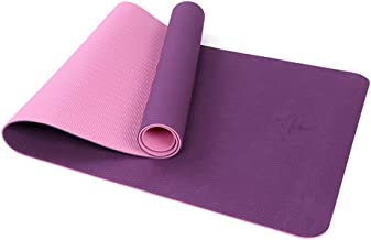 WZHYOGAMAT Dubbele Laag Yoga Mat Anti-slip Mat Voor Stretching Camping/Pilates/Stretching/Sit-ups Multi-size Kleur Optioneel