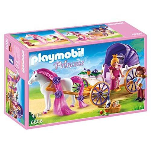 Playmobil - 6856 - Jeu - Calèche Royale+ Cheval à Coiffer