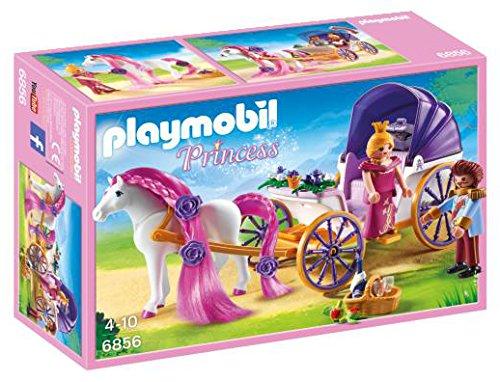 PLAYMOBIL - Pareja Real con carruaje 6856