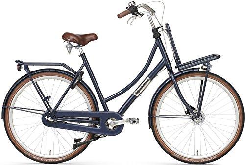 28 Zoll Damen Holland Fahrrad Popal Daily Dutch Prestige P28020N3, Rahmengröße:50cm, Farbe:dunkelblau