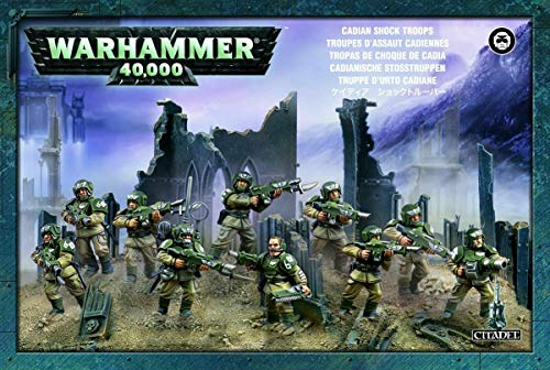 Games Workshop 99120105039 - Warhammer 40.000 Cadianische Stosstruppen