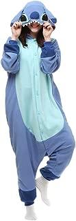 HOLA SUNNY Stich Onesie for Adults. Halloween Xmas Animal Kigurumi Pajama Costume for Women/Men