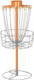 Topeakmart 18-Chain Disc Golf Goal Sport Disc Basket Practice Outdoor Steel Disc Golf Discs