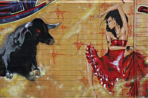Impresiones Sobre Lienzo Arte De Pared Pinturas Decorativas,Chica Abstracta Moderna Home Decor Arte Taurino Carteles Pintura En Tela Arte De Pared De Imágenes Para Sala De Estar Cocina Dormitorio Sin