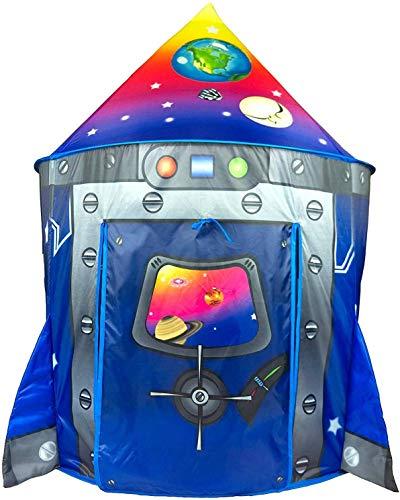 Benebomo Carpas para niños astronave Tiendas de campaña,Tipi para niños, casita para...