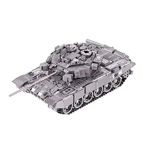 Piececool 3D Metal Model Kit for Adults - Russian T-90A tank 3D Metal Jigsaw Puzzle Ideal Christmas and New Year Gift for Adults…