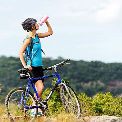 AUTLEAD Fahrradhelm mit Licht, Mountain Bike Helm Herren Damen, Verstellbar Radhelm mit Abnehmbarem Visier und Polsterung, Erwachsene, Trekking & City Rennradhelm Schwarz, CPSC (55-61cm MV50) - 7
