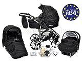 ALLIVIO - Landau pour bébé + Siège Auto - Poussette - Système 3en1, incluant sac...