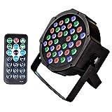 Stage Lights U`King 36 LEDs Strobe Lights 7 Lighting Modes DJ Light RGB