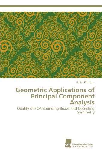 Geometric Applications of Principal Component Analysis: Quality of PCA Bounding Boxes and Detecting Symmetry